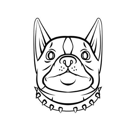 Dog Head Vector