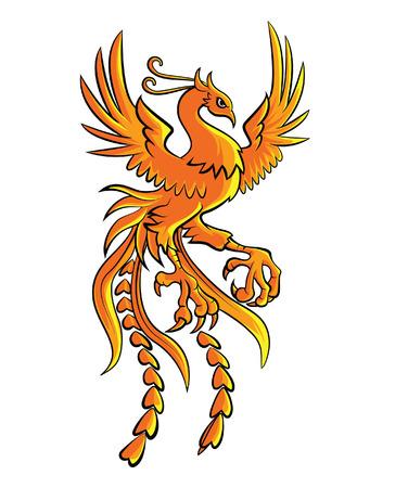 Phoenix  イラスト・ベクター素材