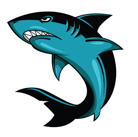 manta: Shark Vector Illustration
