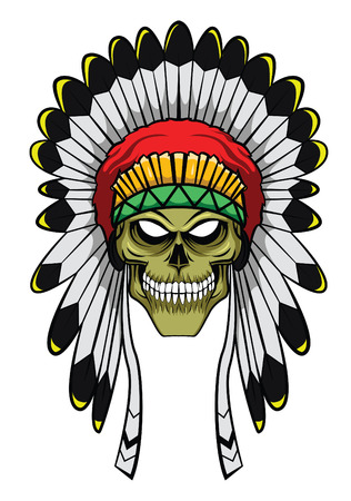 warrior tribal: Apache Head