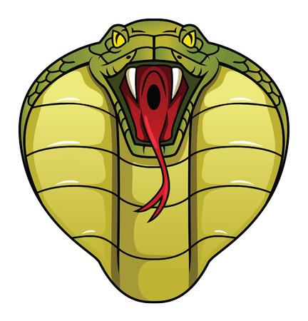 serpiente cobra: cobra