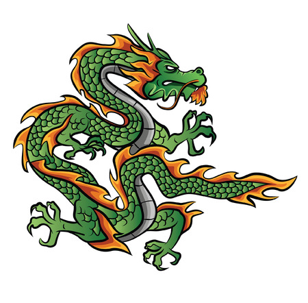 Dragon Illustration Vector