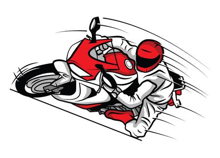 gp: Moto Sport Illustration