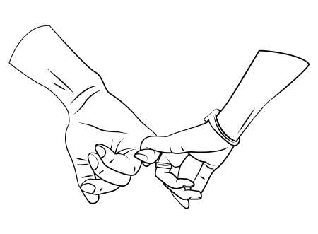 romantic: Romantic Hand