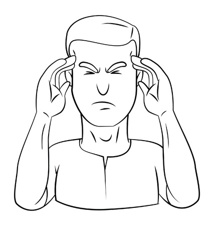 dizziness: dizziness man