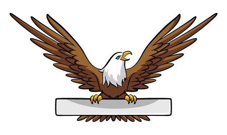Eagle Banner Vector