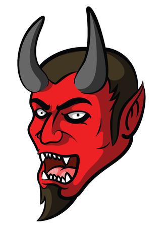 fiend: Devil Mascot Illustration