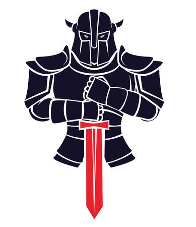 Knight Warrior Vector