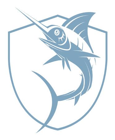 blue marlin: Marlin Fish Tattoo
