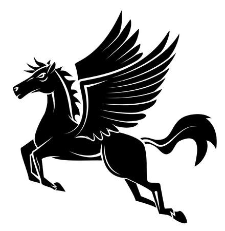 Paard Wing Tattoo