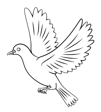 paloma volando: Flying Dove