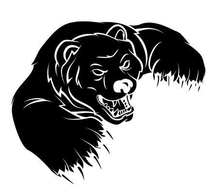oso negro: Tenga Vectores