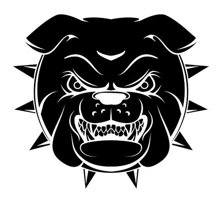 bulldog puppy: Bulldog Head