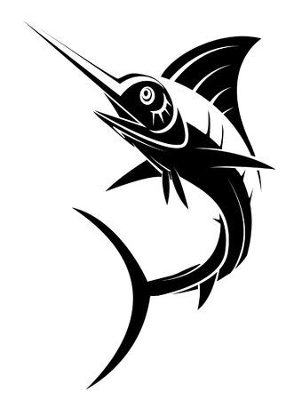 sailfish: Marlin Tattoo