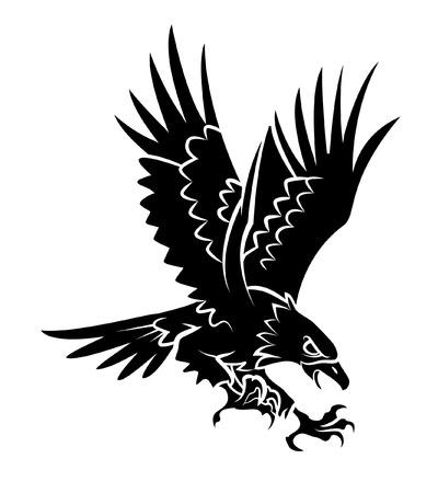Águila Ilustración de vector