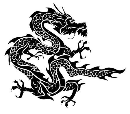 china art: Dragon