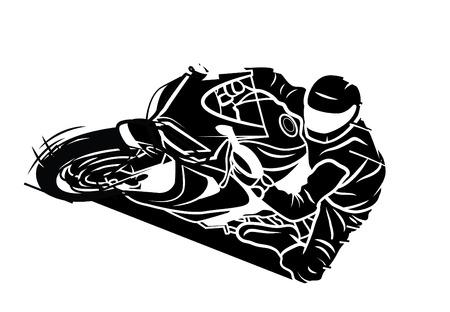 Moto Sport Illustration