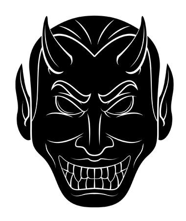 diable rouge: Red Devil Head