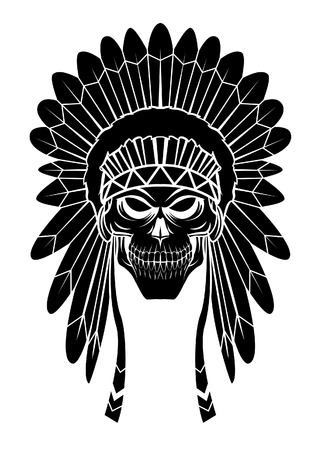 black american: Apache Head