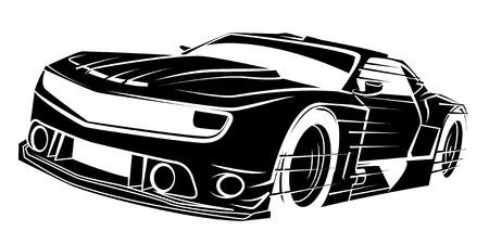 Sportwagen Standard-Bild - 34321777
