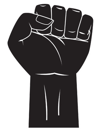 grasp: Strong hand Illustration