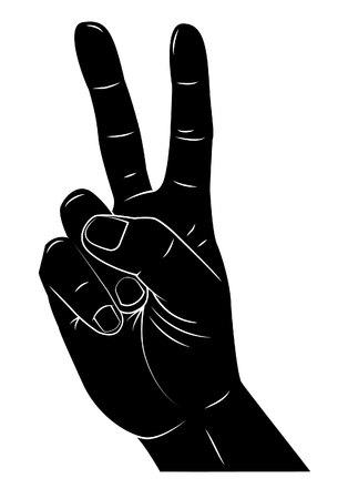 segno della pace: Della mano di pace