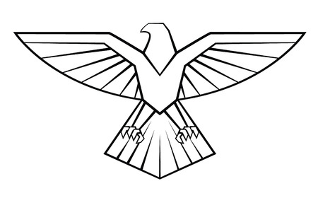 nobility symbol: Eagle Symbol Illustration