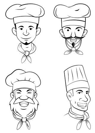 head set: Chef Head Set Collection