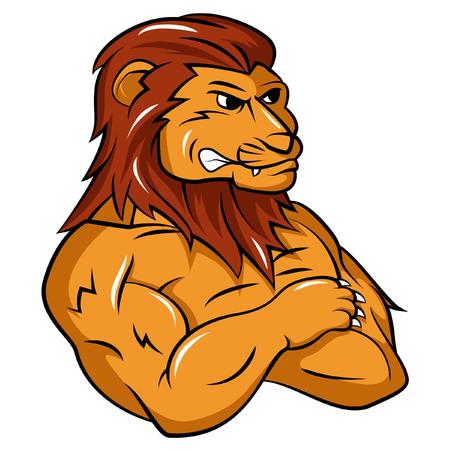 Lion Mascot Ilustração