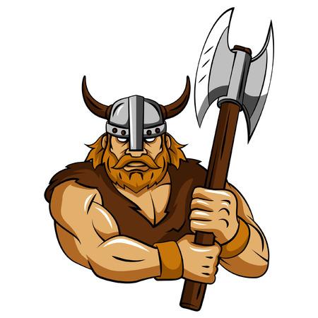 cartoon knight: Viking Axe