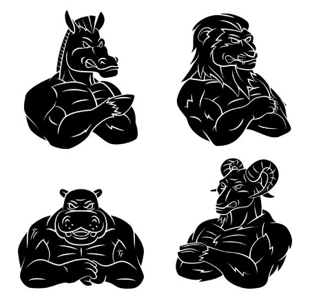 hypo: Horse,Lion,Hypo and Goat Tattoo Collection