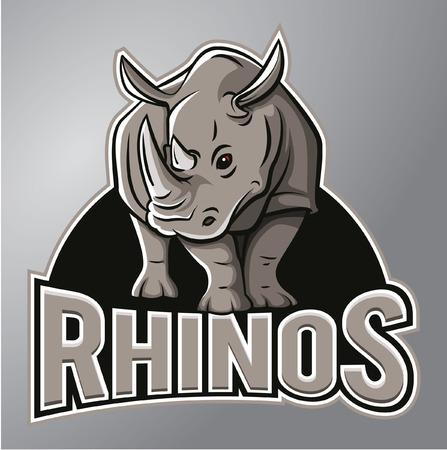 Rhinoceros Mascot