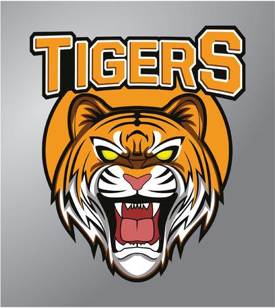tooth mascot: Tigers mascot