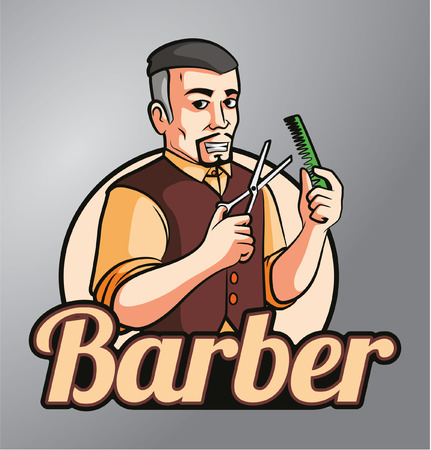 barber: Barber Illustration
