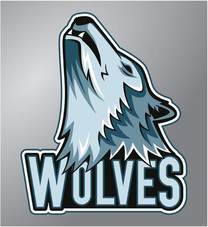 Wolves mascot Stock Vector - 40397448