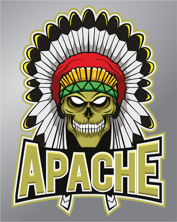indian tribe: Apache mascot
