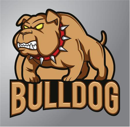 british bulldog: Bulldog Mascot