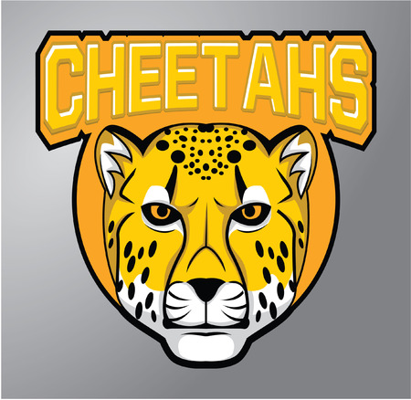Mascots Cheetah Vector
