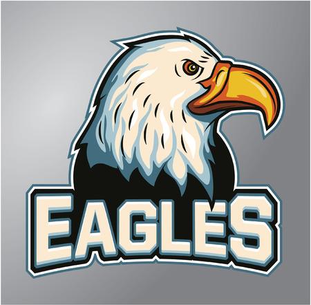 Mascot Eagles Stock Vector - 40396173