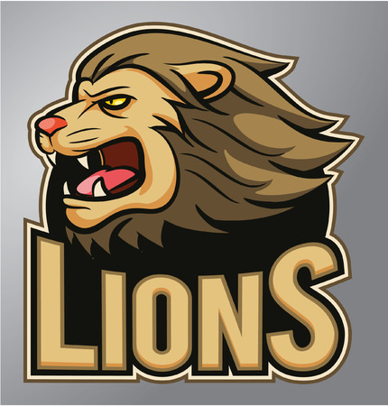 lion claw: Lions mascot