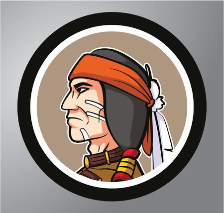 apache: Apache Circle sticker