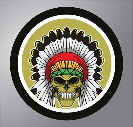 apache: Apache Circle sticker