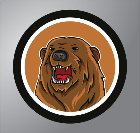 kodiak: Bears Circle sticker