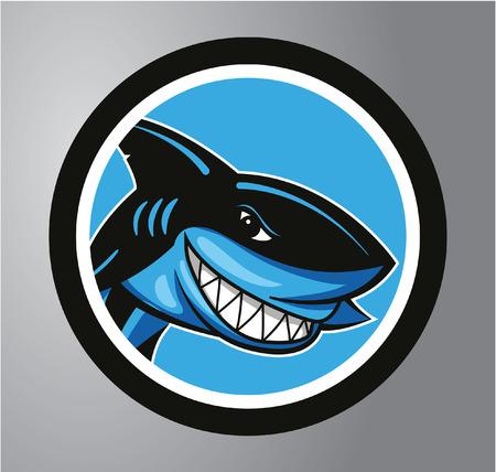 Sharks Circle sticker