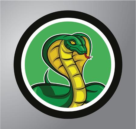 poison fang: Cobra Circle sticker