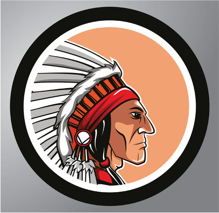 Apache Circle sticker