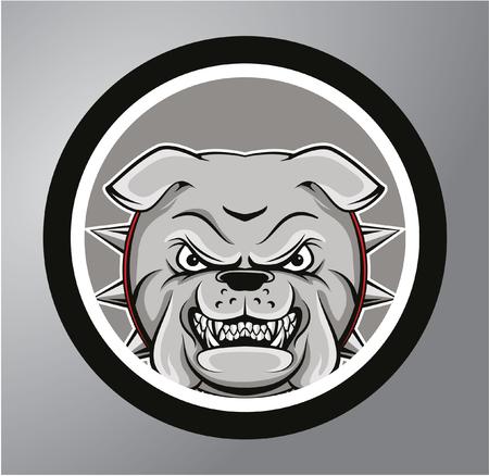 british bulldog: Bulldogs Circle sticker