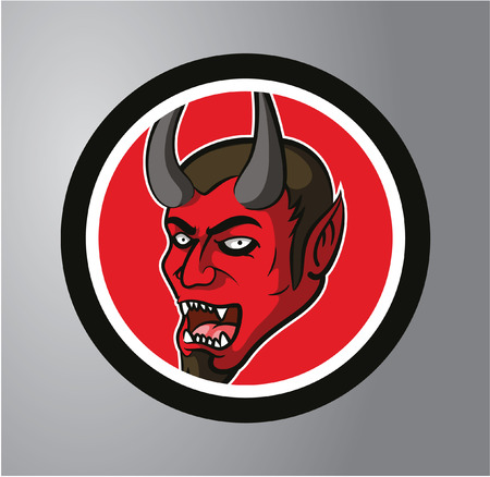 Devils Circle sticker Vector
