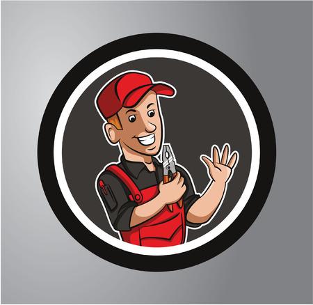 Technicus Circle sticker