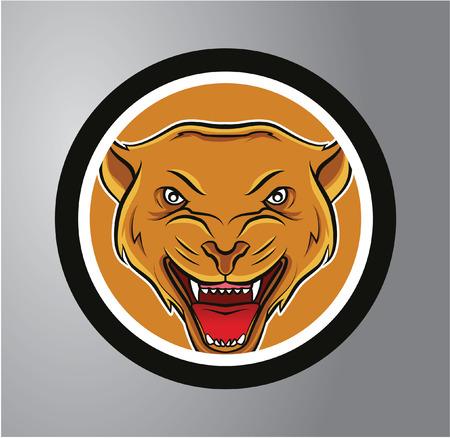 panthers: panthers Circle sticker